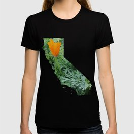 California Poppy in NorCal - State Flower T-shirt