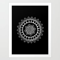 introvert Art Prints featuring The Introvert by JWRIGGS