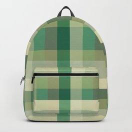 Camouflage Military Blur Squares Backpack