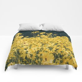 Daisies For Days Comforters