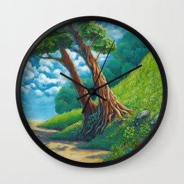 Sunny way Wall Clock