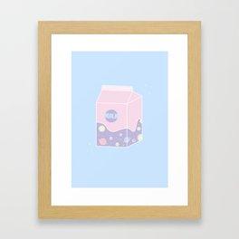 Teenager - Illustration Framed Art Print