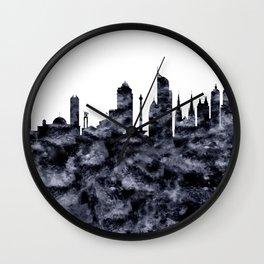 Jakarta Indonesia Skyline Wall Clock