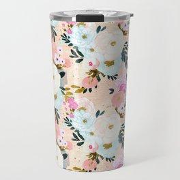 Florence Painterly Floral Travel Mug