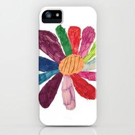 Color Flower iPhone Case