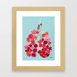 Simply Breathe - Lungs For Whitney Framed Art Print