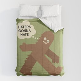 Bigfoot Has So Many Haters Comforters