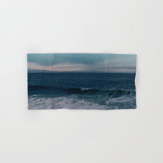 Blue California Ocean Hand & Bath Towel