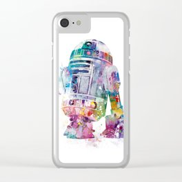 R2-D2 Clear iPhone Case