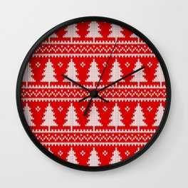 Christmas tree's Wall Clock