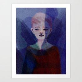 Pastel Shade Art Print