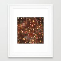 constellation Framed Art Prints featuring constellation by davina pallone