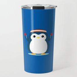 Penguin Cheer Travel Mug