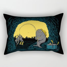 Fisher Fish Rectangular Pillow