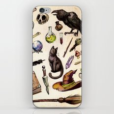Witching Essentials iPhone & iPod Skin