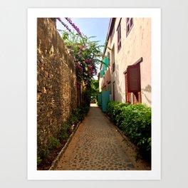 Gorée Island Art Print