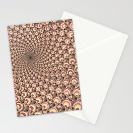 Super Psychedelic Candy Swirl Stationery Cards