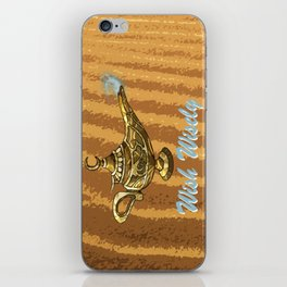 Magic Genie Lamp iPhone Skin