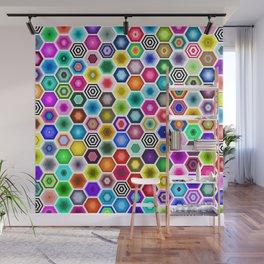 Honeycomb Hideout  Wall Mural