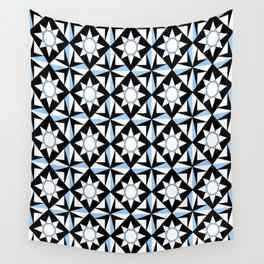 symetric patterns 51 -mandala,geometric,rosace,harmony,star,symmetry Wall Tapestry