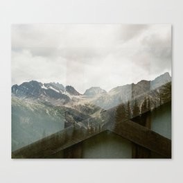 Mountain Foundations  Canvas Print