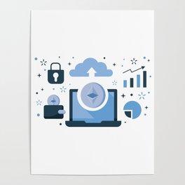 Ethereum Blockchain Poster