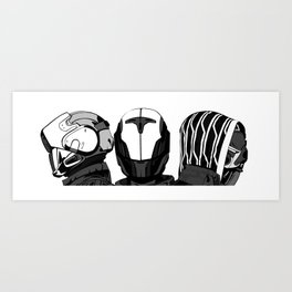 The Fireteam Art Print