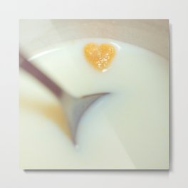 Cereal Love Metal Print