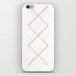 x pattern x&0 iPhone Skin