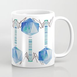 Bacteriophage 2, Science art, science, virus, microbiology, virology, geekery, science illustration Coffee Mug