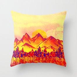 Landscape #05 Throw Pillow