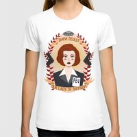 wallet T-shirts featuring Dana Scully by heymonster