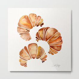 Croissant Collection Metal Print