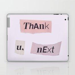 thank you next - Ariana - white Laptop & iPad Skin