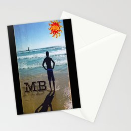 Mission Beach Stationery Cards