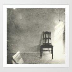 chair series no.3 Art Print