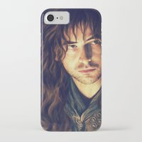 kili iPhone & iPod Cases featuring kili portrait by Ronnie