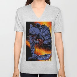 Dungeons, Dice and Dragons _ Gnoll Unisex V-Neck