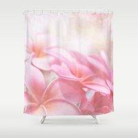 aloha Shower Curtains featuring Aloha by Sharon Mau