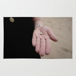 Little Hands, Tiny Shell Rug
