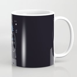 Strangers in the night, exchanging glances Coffee Mug