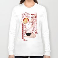 true blood Long Sleeve T-shirts featuring True Blood Nouveau by Nana Leonti