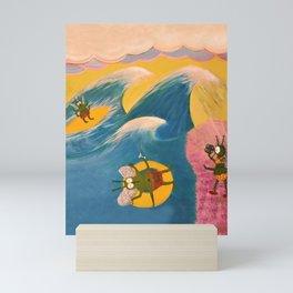 Bugs at the Beach Mini Art Print