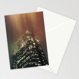 Misty Tower Stationery Cards
