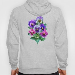 Bouquet of violets I Hoody