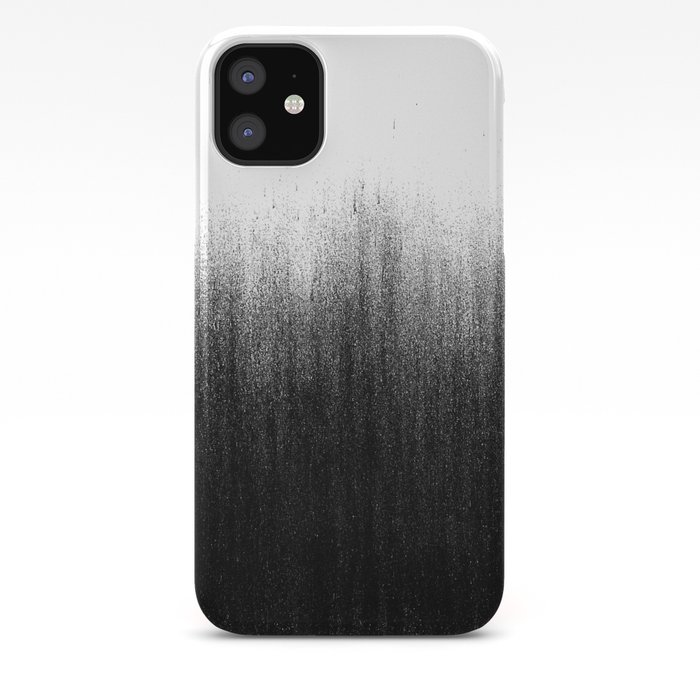 Charcoal Ombré iPhone Case