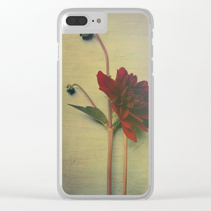 Whispers of Love Clear iPhone Case