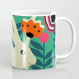 Little bunny in spring Coffee Mug
