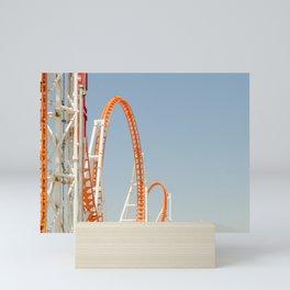 Coney Island Thunderbolt Mini Art Print