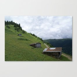 Old Houses Canvas Print